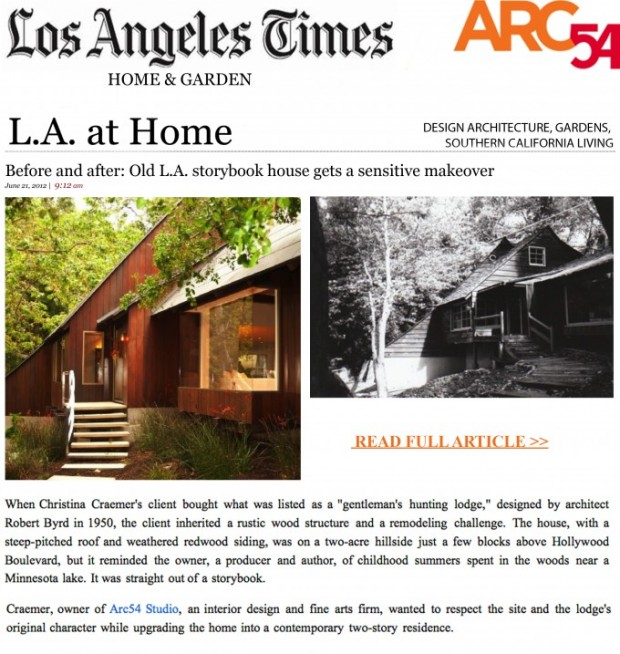 Before and after_ Old L.A. storybook house gets a sensitive make